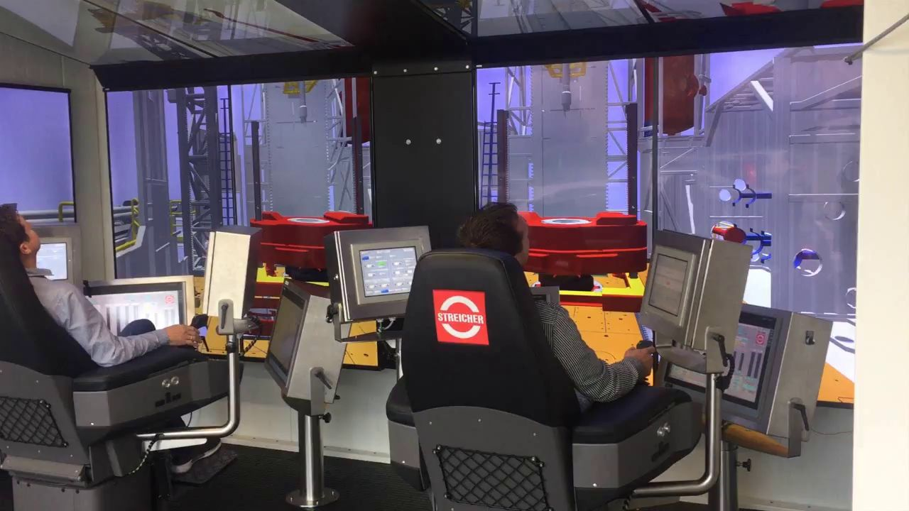 Drilling Rig Simulator from Streicher
