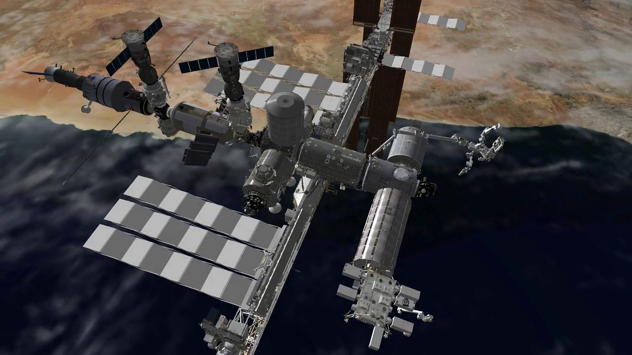 DLR SpaceScenery Library – ISS